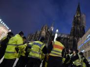 Silvester in Köln: Schutz vor Übergriffen: Polizei erweitert Sicherheitszone in Köln