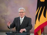 """Bundespräsident: Joachim Gauck: """"Liberale Demokratie unter Beschuss"""""""