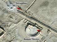 Unesco: Kriegsverbrechen: IS sprengt historische Bauten in Palmyra