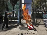 Nach Amtseinführung: Anti-Trump-Proteste in Mexiko
