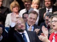 SPD-Kanzlerkandidat: Martin Schulz erobert das Willy-Brandt-Haus