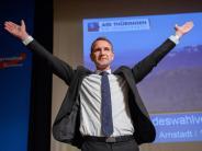 AfD-Parteitag inThüringen: Höcke entschuldigt sich für Dresdner Rede