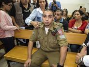 Urteil in Israel: Eineinhalb Jahre Haft für Soldaten wegen Tötung von Palästinenser