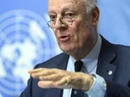 Meterweiter Abstand: Tauziehen um Prozedere bei Syrien-Gesprächen in Genf