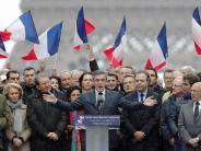 Großkundgebung in Paris: Fillon kämpft um sein politisches Überleben