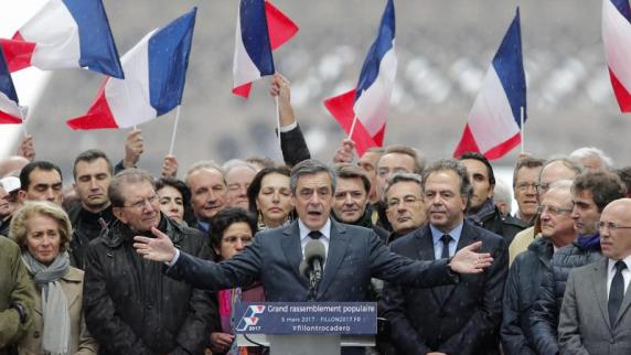 Wohnung von Präsidentschaftskandidat Fillon durchsucht
