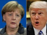 Zu Besuch bei Donald Trump: Merkel: Gute Handelsbeziehungen auch für USA wichtig