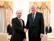 Besuch im Kreml: Seehofer bei Putin - ein Treffen auf Augenhöhe?