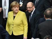 SPD-Machtwechsel am Sonntag: Schulz-Effekt? Merkel gibt sich cool