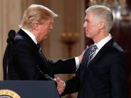 Justizschelte «entmutigend»: Trumps Richter-Kandidat kritisiert den Präsidenten scharf