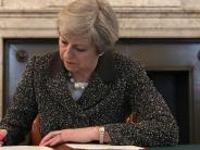 Brexit: Briten wollen EU-Gesetze loswerden - Ärger um Drohung im Brexit-Brief