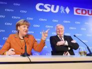 CDU/CSU legt auf 36 Prozent zu: Forsa-Umfrage: Union vergrößert Abstand zu SPD deutlich