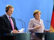 Premier Kenny in Berlin: Merkel: Beim Brexit geht es für Iren um «Frieden und Krieg»