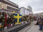 Zweite Festnahme: Stockholm setzt nach Anschlag Zeichen gegenGewalt