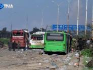 Opfer vor allem Kinder: 126 Tote bei Anschlag auf Busse in Syrien