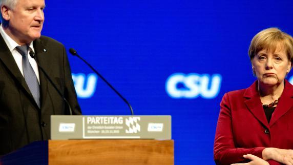 Obergrenze für Flüchtlinge bleibt CSU-Ziel