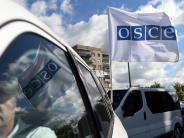 OSZE-Beobachter getötet: Mogherini fordert vollständige Waffenruhe im Donbass