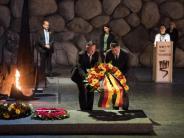 Historische Verantwortung: Holocaust-Gedenktag in Israel:Gabriel erinnert an die Opfer