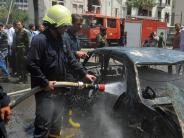 Angriff gegen Hisbollah?: Israelische Armee bombardiert Syrien