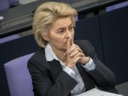 Rechtsextremismus: Von der Leyen erwartet kein schnelles Ende der Bundeswehr-Affäre
