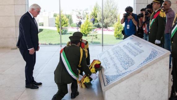 Steinmeier trifft zum Abschluss von Nahost-Reise Abbas