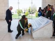 Nahostreise: Steinmeier im Palästinensergebiet - Abbas trifft Trump