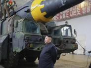 Konflikt um Atomprogramm: Nordkorea testet erneut ballistische Rakete