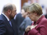 Wahltrend: SPD verliert: Union und FDP laut Umfrage erstmals mit Mehrheit