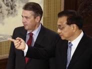 Antrittsbesuch in Peking: Gabriel setzt im Nordkorea-Konflikt auf China