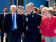 """News-Blog: Trump soll Deutsche als """"böse, sehr böse"""" bezeichnet haben"""