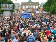 Evangelischer Kirchentag: Auch der Privatmann Barack Obama zieht die Massen an