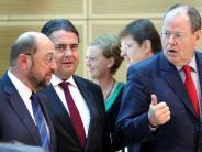 SPDbei 25 Prozent: Steinbrück stänkert gegen Schulz-Wahlkampf