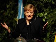 Auch Mauerbau Thema: Merkel spricht in Mexiko über Trumps Handelspolitik