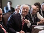 USA: Donald Trumps Kabinett preist seinen Chef, Twitter reagiert mit Spott