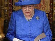 Großbritannien: Queen verliest ein Regierungsprogramm im Zeichen des Brexit