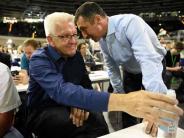 Die Grünen: Lauschangriff auf Grünen-Parteitag: Kretschmann lästert über Kollegen