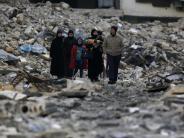 Konflikt in Syrien: Syrer kehren in vom Krieg zerstörtes Aleppo zurück