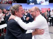 SPD-Parteitag in Dortmund: Martin Schulz wirft Merkel «Anschlag auf Demokratie» vor