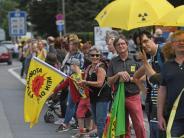 Mikrorisse in belgischen AKW: «Stop Tihange» - Anti-Atom-Protest über 90 Kilometer