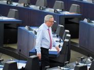 Brüssel: Eklat im fast leeren Parlament: Juncker redet sich in Rage