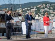 Solidaritätsbekenntnis: Berlin, Paris und Rom: Stärkerer Kampf gegen Fluchtursachen