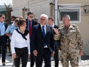 Besuch bei Soldaten: Überraschender Besuch: Steinmeier in Afghanistan