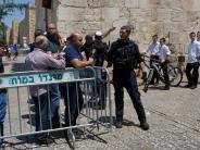 Israel: Die Attentäter verschanzten sich an einem heiligen Ort
