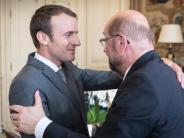 Europas Zukunft: Schulz präsentiert sich als guter EU-Partner für Macron