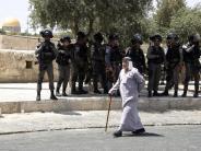 Sorge um neue Gewalt: Israel beschränkt erneut Zugang für Muslime zum Tempelberg