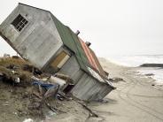 Klimawandel: Ein Eskimo-Dorf versinkt bald im Meer