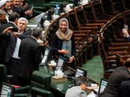 Auftritt: Mogherini verwirrt Irans Politiker