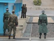 Nordkorea: Wo sich die koreanischen Feinde Auge in Auge gegenüberstehen