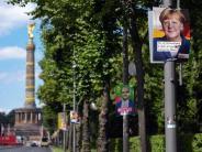 Bundestagswahl: Merkel verliert in Umfragen an Zustimmung