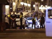 Auswärtiges Amt: 13 teils schwer verletzte Deutsche in Barcelona